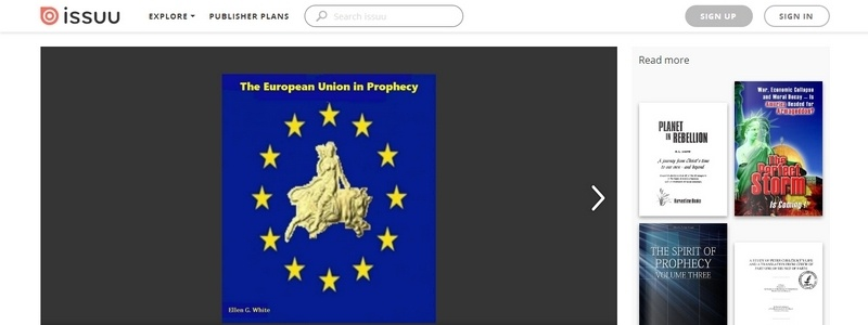 European Union in Prophecy by Ellen G. White
