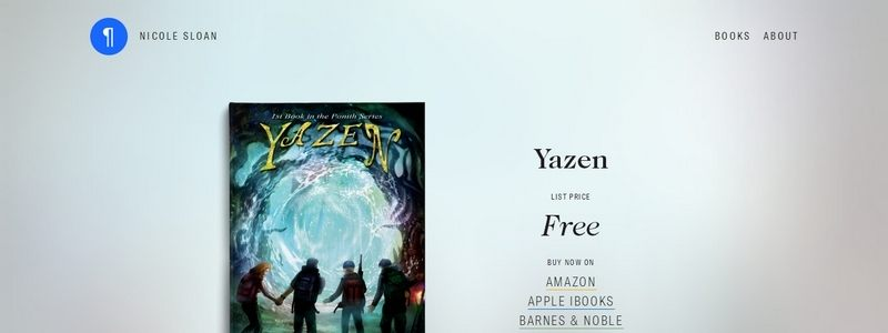Yazen:1st book in the Ponith series by Nicole Sloan