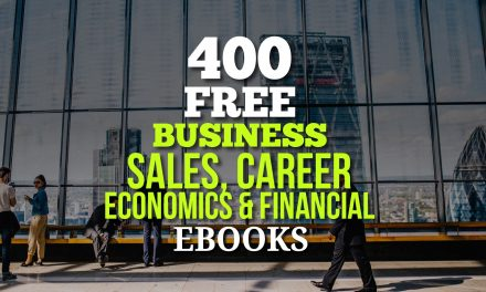 400 Free Business, Sales, Career, Economics and Financial Ebooks