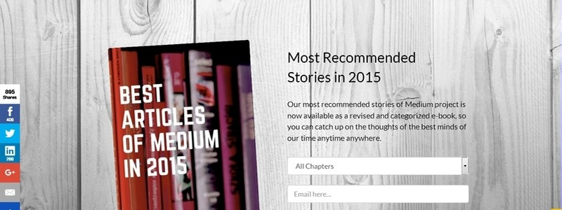 Best Articles of Medium in 2015 by Levent Askan and Ans?n Ozturkmen