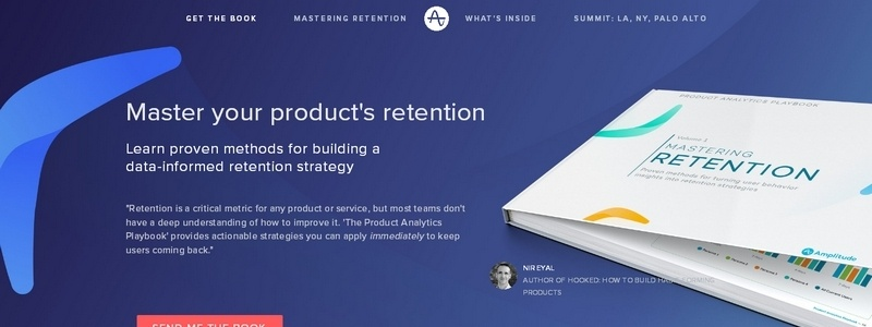 Mastering Retention - Product Analytics Playbook Vol.1 by Amplitude