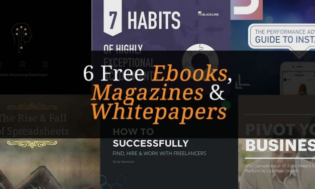 6 Free Accounting, Business & Social Media Ebooks, Magazines & Whitepapers