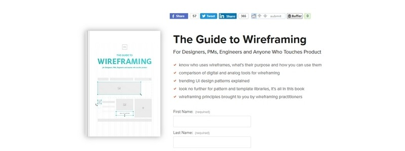 The Guide to Wireframing: For Designers, PMs, Engineers and Anyone Who Touches Product by Chris Bank