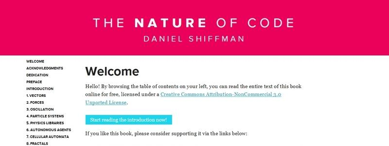 The Nature of Code by Daniel Shiffman