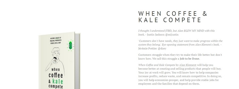 When Coffee & Kale Compete by Alan Klement