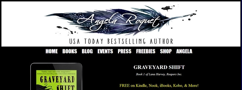 Graveyard Shift - Book 1 of Lana Harvey, Reapers Inc. by Angela Roquet