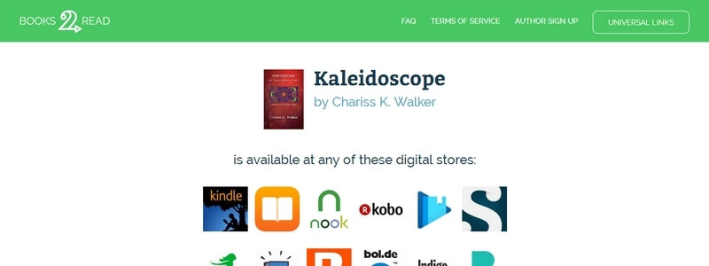 Kaleidoscope - The Vision Chronicles: Book 1 by Chariss K Walker