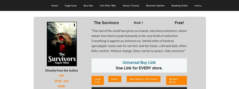 The Survivors by Angela White