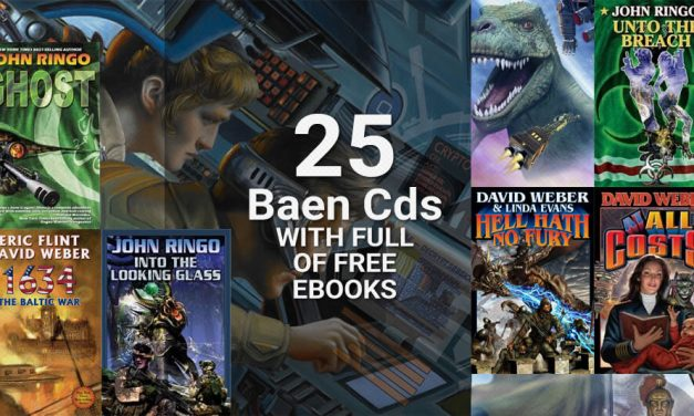 25 Baen Cds with Full of Free Ebooks