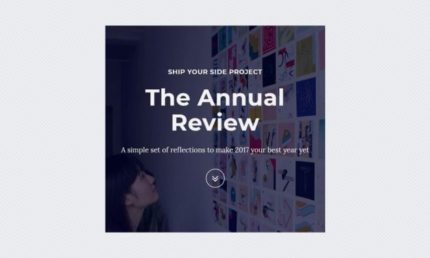 The Annual Review: A Hands-On Workbook