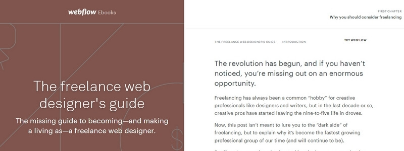The Freelance Web Designer's Guide by Webflow