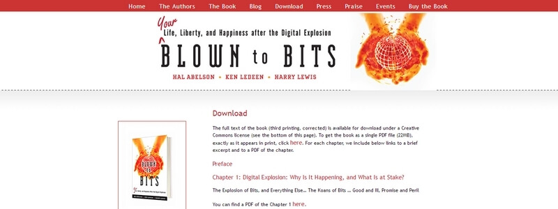 Blown to Bits by Hal Abelson, Ken Ledeen, Harry Lewis