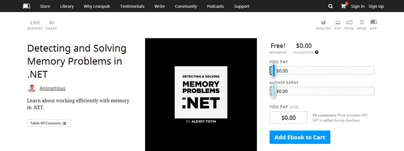 Detecting and Solving Memory Problems in .NET by Alexey Totin