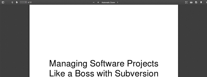 Managing Software Projects Like a Boss with Subversion and Trac by Beau Adkins