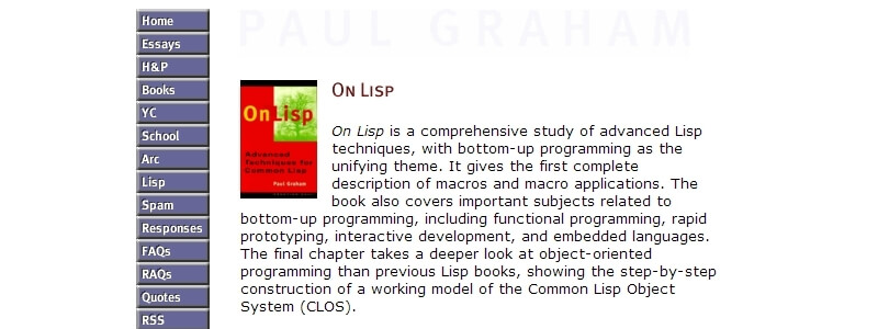 On Lisp by Paul Graham
