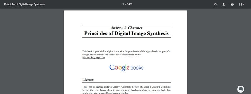Principles of Digital Image Synthesis  by Andrew S. Glassner