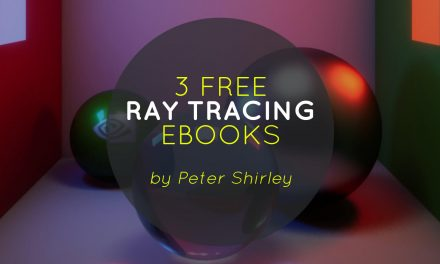 3 Free Ray Tracing Ebooks