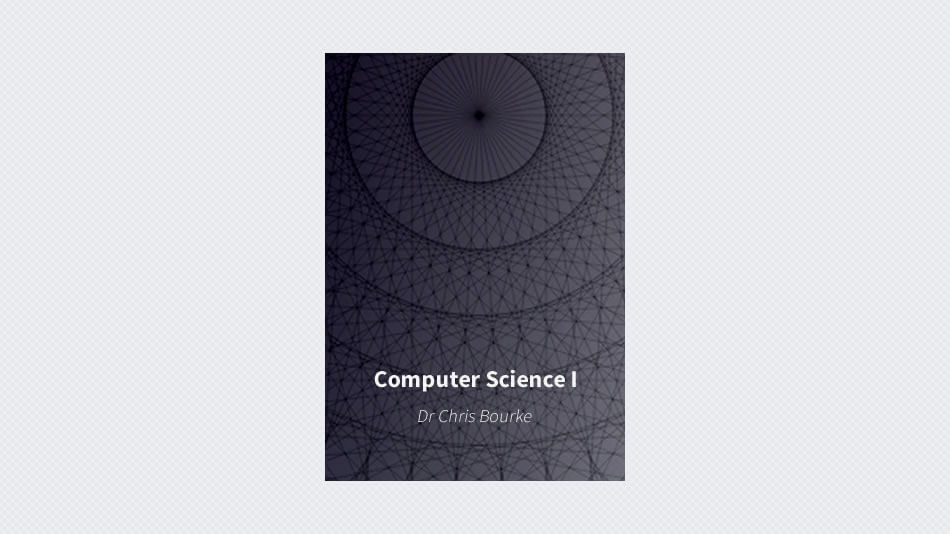 Computer Science I