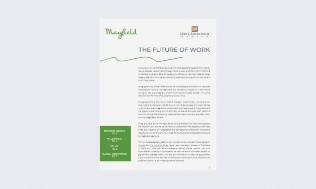 The Future of Work: Insights from Gig Economy Workers, Entrepreneurs, Investors & Policy Makers