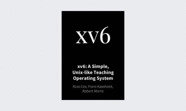 xv6: A Simple, Unix-like Teaching Operating System
