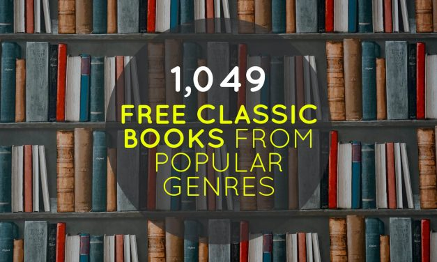 1,049 Free Classic Books from Popular Genres