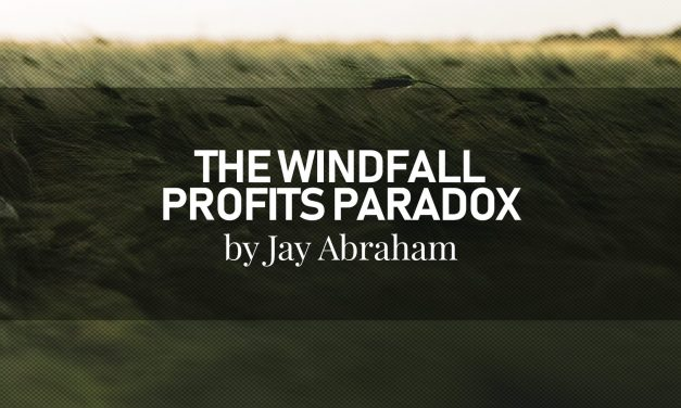 The Windfall Profits Paradox by Jay Abraham