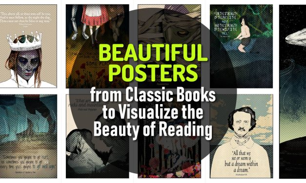 Classy and Beautiful Posters from Classic Books to Visualize the Beauty of Reading