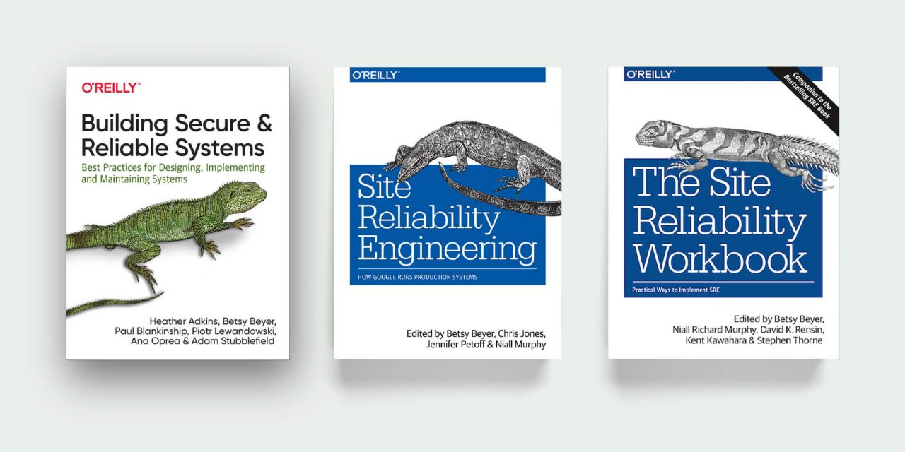 3 Free Site Reliability Engineering (SRE) Ebooks by Google