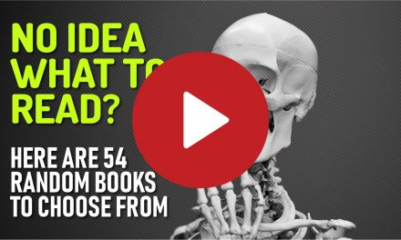 (Video) No Idea What to Read? Here are 54 Random Books to Choose From