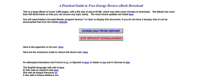 A Practical Guide to Free-Energy Devices
