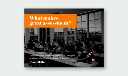What Makes Great Assessment?