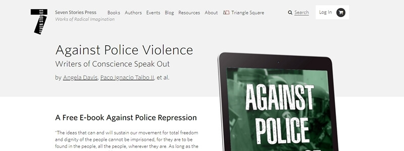 Against Police Violence - Writers of Conscience Speak Out