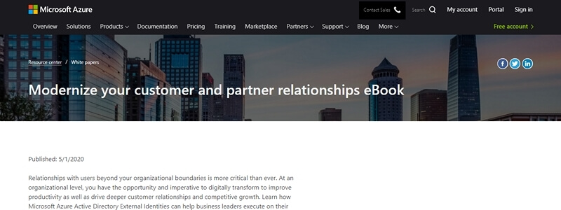 Modernize Your Customer and Partner Relationships