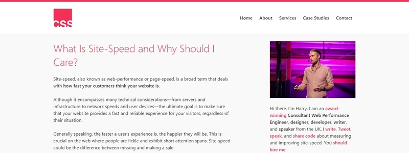What Is Site-Speed and Why Should I Care?