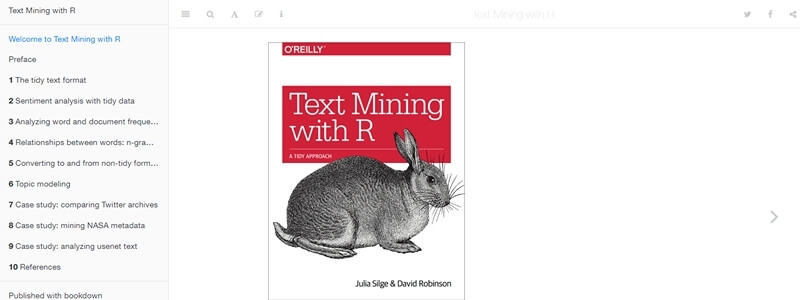 Text Mining with R - A Tidy Approach