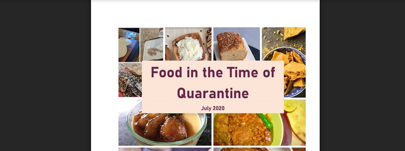 Food in the Time of Quarantine - July 2020