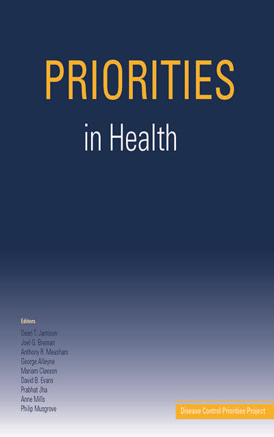 Priorities in Health by Dean T. Jamison and Joel G. Breman