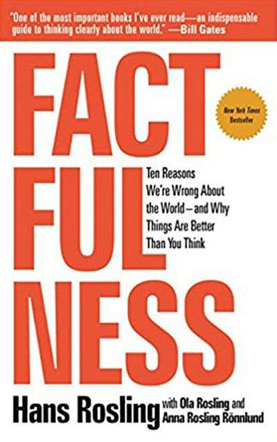 Factfulness: Ten Reasons We're Wrong About the World—and Why Things Are Better than You Think by Hans Rosling, Anna Rosling R?nnlund, and Ola Rosling