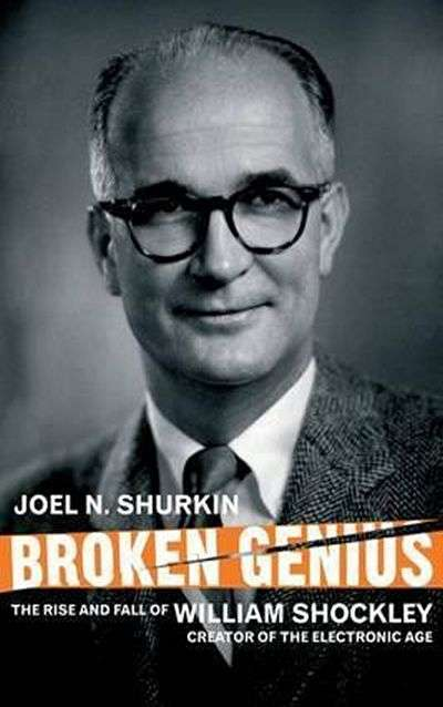 Broken Genius by Joel Shurkin