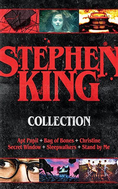 APT Pupil, The Body, The Shining, Christine by Stephen King