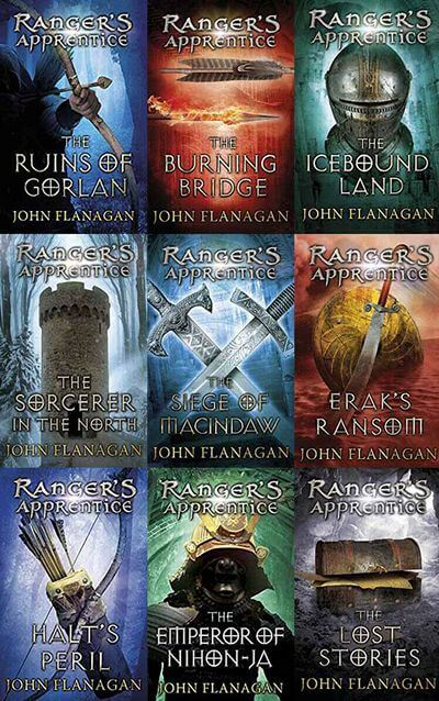 The Ranger's Apprentice series by Flanagan