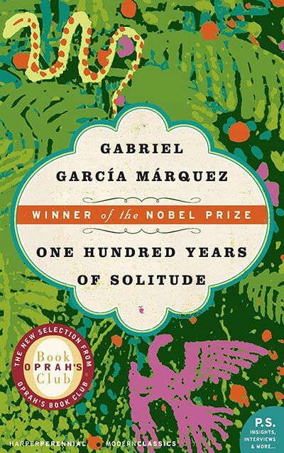 100 Years of Solitude by Marquez