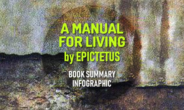 Book Summary Infographic – A Manual for Living by Epictetus