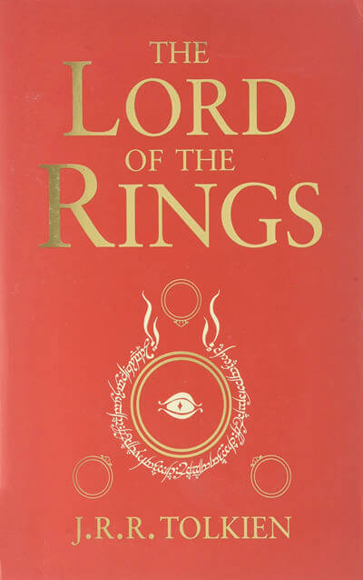 Lord of the Rings trilogy by JRR Tolkien