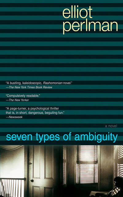 Seven Types of Ambiguity by Eliot Perlman