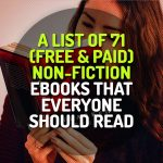 A List of 71 (Free & Paid) Non-Fiction Classic eBooks that Everyone Should Read