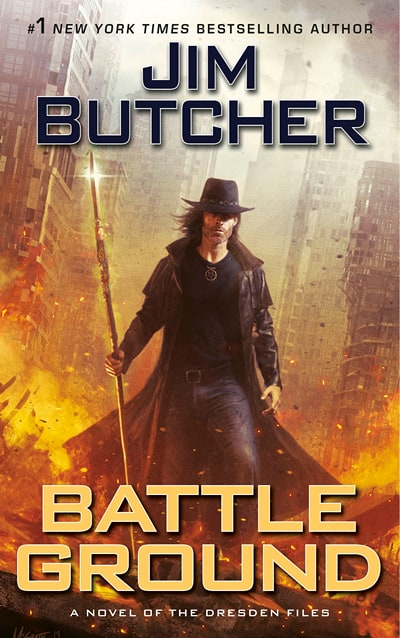 The Harry Dresden Files by Jim Butcher