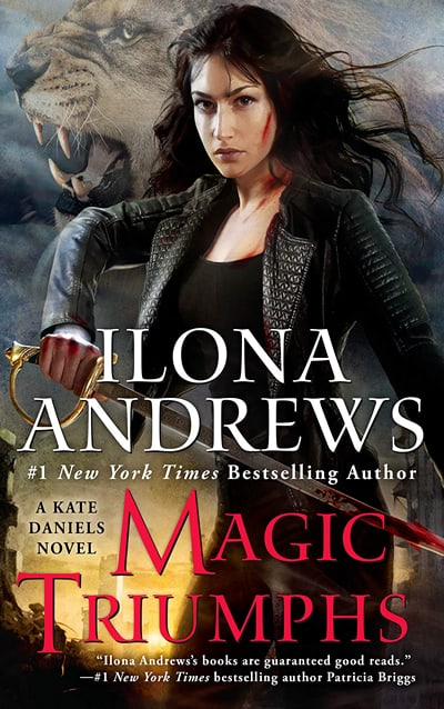 The Kate Daniels Series by Ilona Andrews