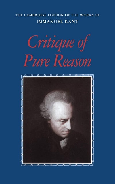 Critique of Pure Reason by Kant