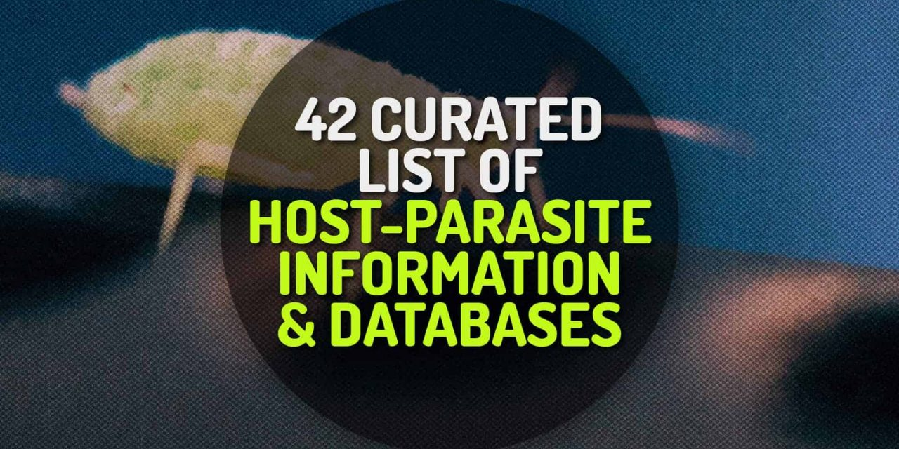 42 Curated List of Host-Parasite Information and Databases